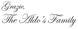 Grazie The Aldo Family